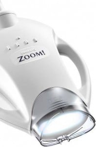 zoom whitening light